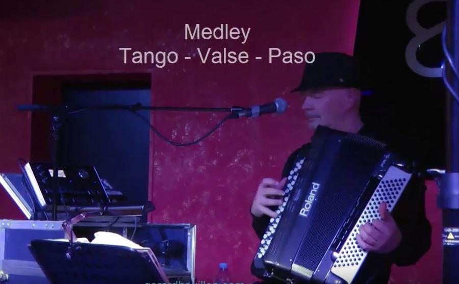 Guy Gougeon:   medley (tango – valse – paso)