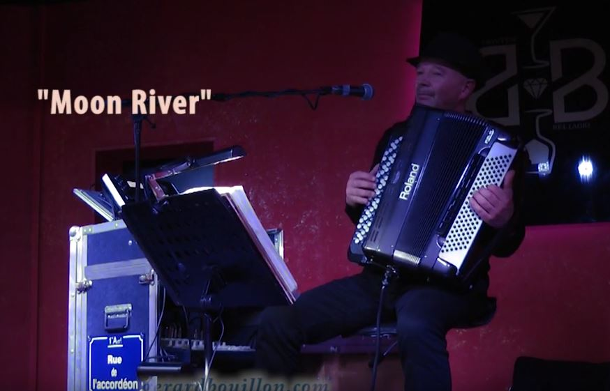 GUY GOUGEON:   « Moon River » (valse anglaise)
