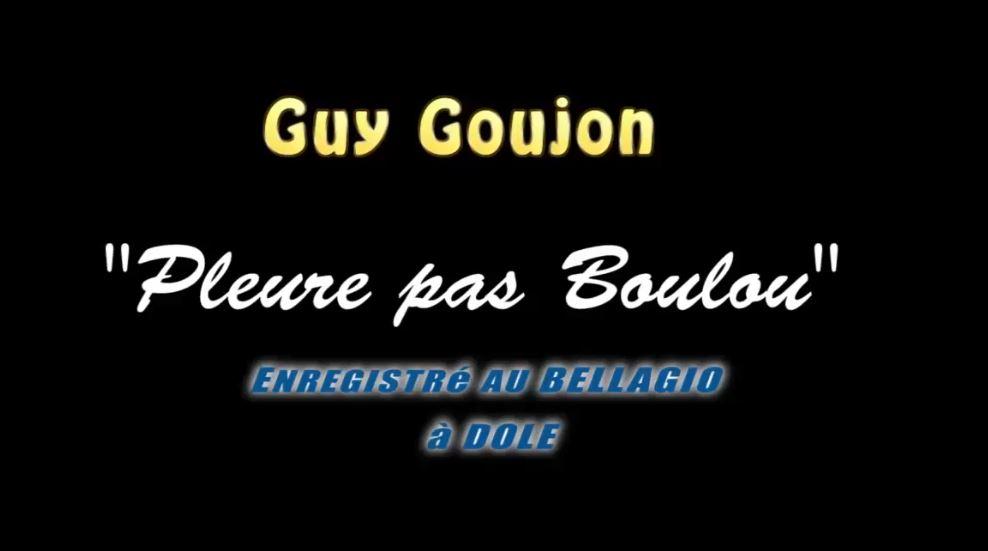Guy Gougeon:  «Pleure pas Boulou»